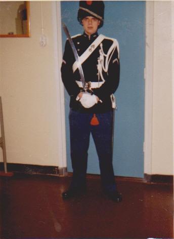 militaire dienst 1989